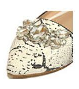 crystal embellished wedding flats